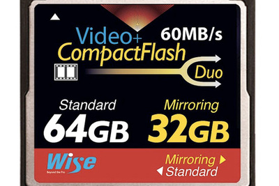 New CompactFlash Card With Built-in RAID