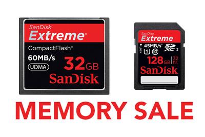 One-Day SanDisk Memory Card Super Sale