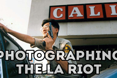Photojournalism in Koreatown during the 1992 LA Riots