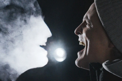 How Holograms Were Added to a Video Using Only Exhaled Breath and Light