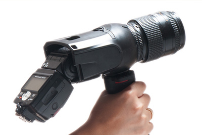 Light Blaster: A Strobe Based Image Projector