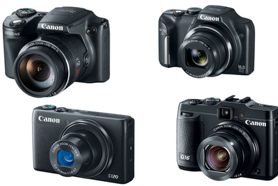 Canon Adds Four New Point-And-Shoots with Improved Focus Speed