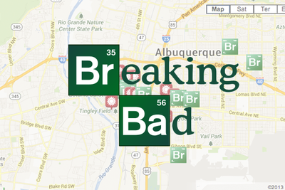 Photo Overlay Re-Creates Breaking Bad Scenes