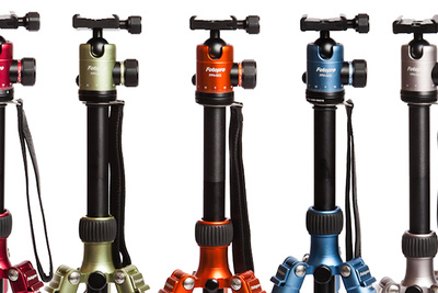 New Fotopro Tripods Appear Identical to MeFoto