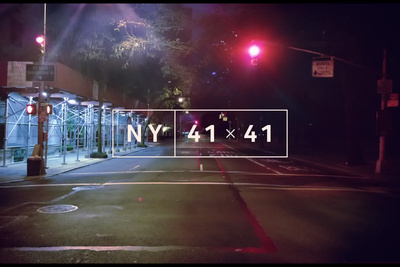 Optical Art - A Beautiful Seamless Journey Through New York City