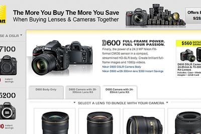 Nikon Announces New Rebates on Camera/Lens Bundles