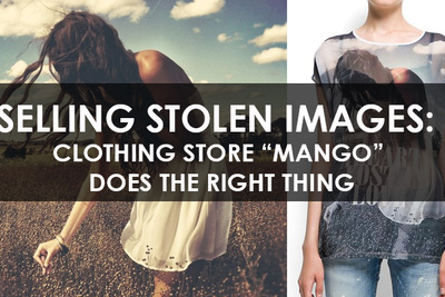 Selling Stolen Images: Mango Proves Companies Can Do the Right Thing