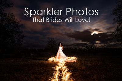 Sparkler Photos That Brides Will Love