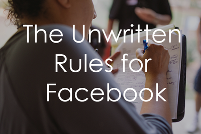 The Unwritten Rules of Facebook for Creatives