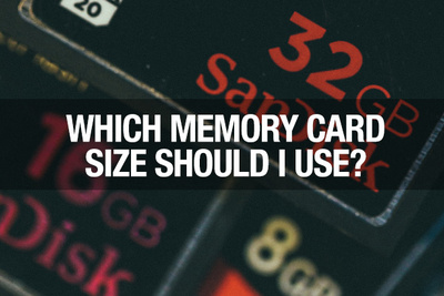 Which Size Memory Card Should I Use?