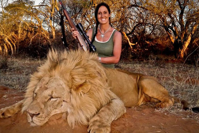 Hunting Show Host Under Fire for Posting Lion Trophy Photo on Facebook
