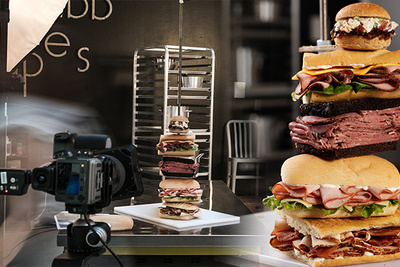 How To Build A Tower Of Sandwiches | BTS RGG Photo