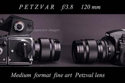 Medium Format Latest in Petzval Lens Resurgence