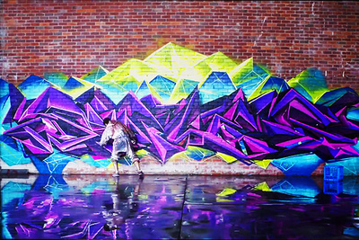 """Stunning Graffiti Artwork Video """"Limitless"""" BTS And Interview With Creator, Selina Miles"""