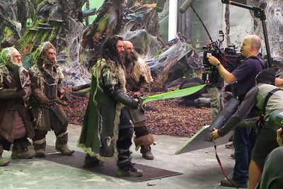 "A Behind the Scenes Look at ""The Hobbit: The Desolation of Smaug"""