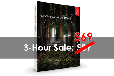 Limited-Time Lightroom 5 Price Cut, Drops to $69