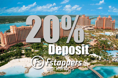 20% Deposit Reserves Your Spot At Fstoppers Workshop Atlantis