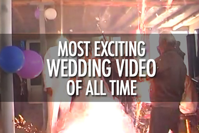 Take 2-Min and Watch The Most Exciting Wedding Video Of All Time