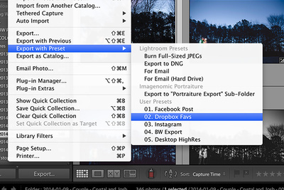 Using Lightroom Export Presets to Speed Up Your Workflow