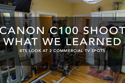 Our First Shoot With The Canon C100 And Atomos Ninja
