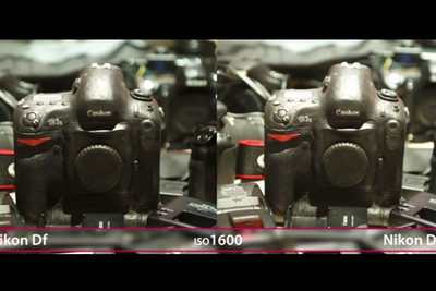 Comparing the Sensor in Nikon's Df and D4 Cameras