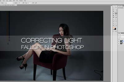 How To Simply Correct Light Falloff In Photoshop
