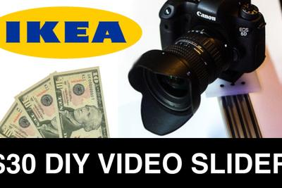 DIY: Build A Video Camera Slider for $30