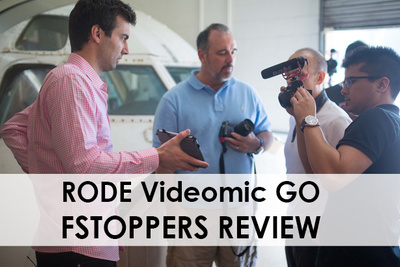 Fstoppers Reviews the RODE VideoMic GO In-Line Power Microphone
