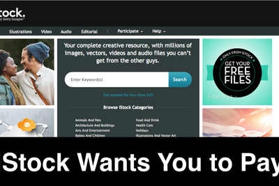 iStock Photo Overpaid Photographers, Wants Money Back