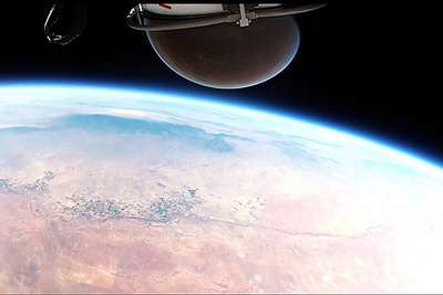 Finally - The PoV Video From The 127,000ft Space Freefall Is Released
