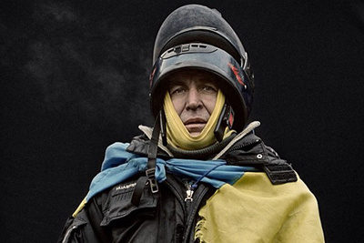 Anastasia Taylor-Lind's Fascinating Portraits of Ukranian Protestors