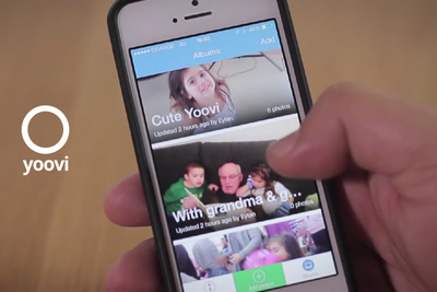 Yoovi: New App Lets Parents Share And Save Pictures of Their Kids In Hi-Res