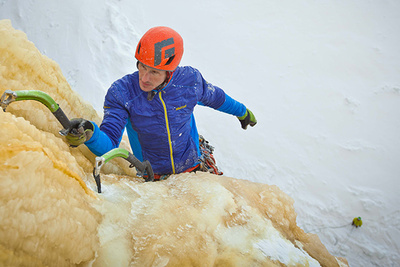 Behind The Scenes Of An Epic Backcountry Ice Climbing Photo Shoot
