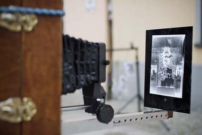 Emil Stankiewicz's Talbotype Camera