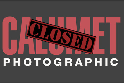 Calumet Photographic U.S. Stores CLOSED