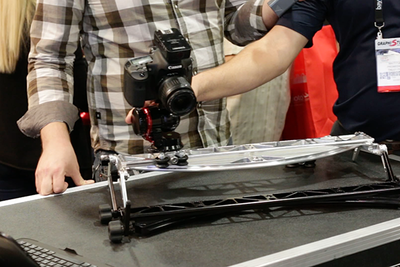 ProMediaGear Shows A Game-Changing Slider, Bowens Talks PocketWizard, & Fotodiox Accessories