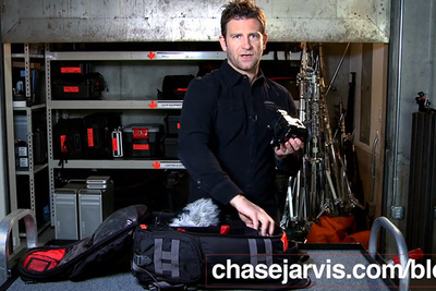 A Peek Inside Chase Jarvis' Bag