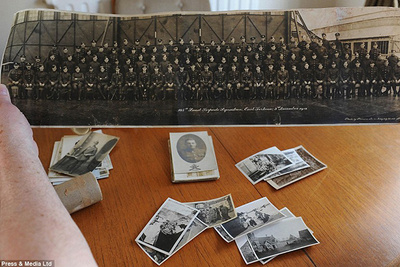 Sanitation Worker's WWI Photo Collection
