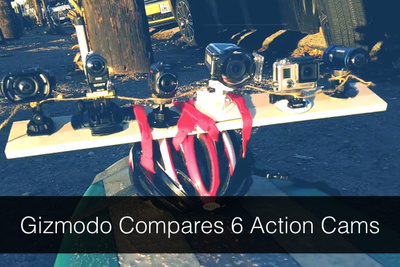 Gizmodo's Side by Side (by side, by side, by side, by side) Action Video Camera Comparison