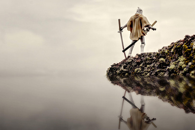 Photographing Star Wars Figures in Action