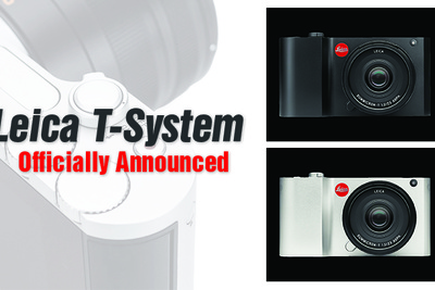 New Leica T-System Officially Announced