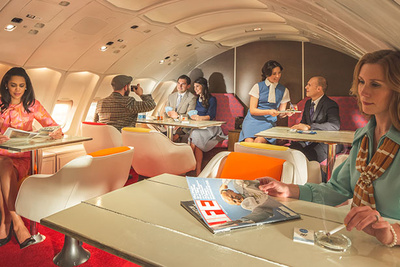Bringing Pan Am Back To Life: Photographing And Lighting The First Class Cabin of a 747