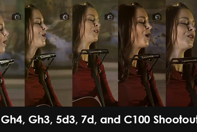 Gh4, Gh3, 5d3, 7d, and C100 Shootout