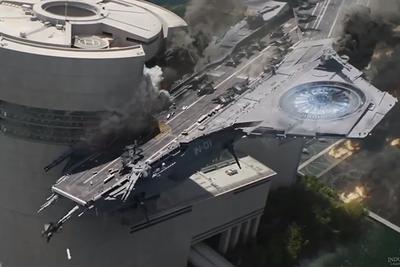 BTS: Helicarrier Crash Design VFX in Captain America: The Winter Soldier