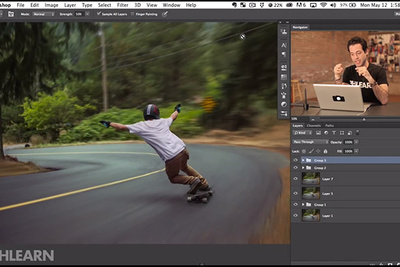 Phlearn Tutorial: How to Master the Motion Blur in Photoshop