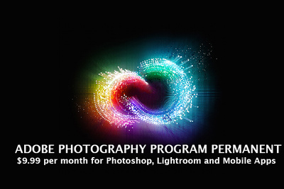 Adobe Makes $9.99 Photography Plan Permanent