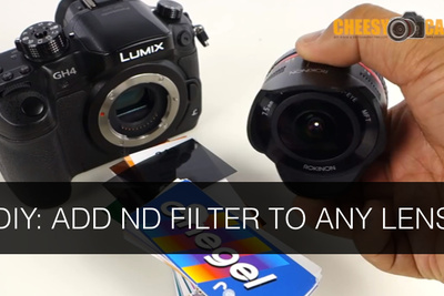 Genius Little Technique to Add ND Filter to Tricky Lenses