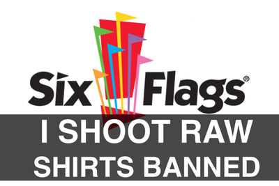 """The Fro"" Gets Stopped at Six Flags for Wearing Photo-Related T-Shirt"