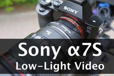 The Sony a7S Can Overexpose Video at Midnight in an Unlit Forest