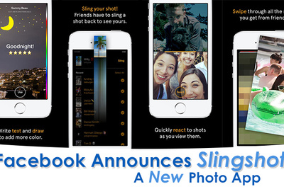 Facebook Releases Slingshot, A New Photo App